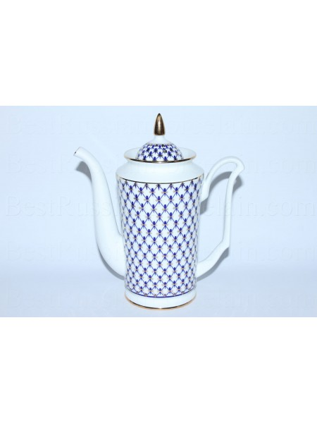 Coffee pot pic. Cobalt Net, Form Yulia