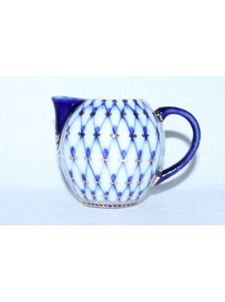 Creamer Cobalt Net, Form Tulip