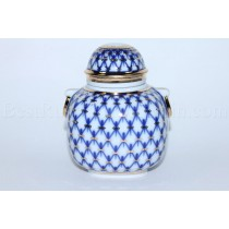 Tea Caddy pic. Cobalt Net Form Ring