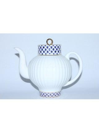 Teapot Cobalt Net, Form Wave