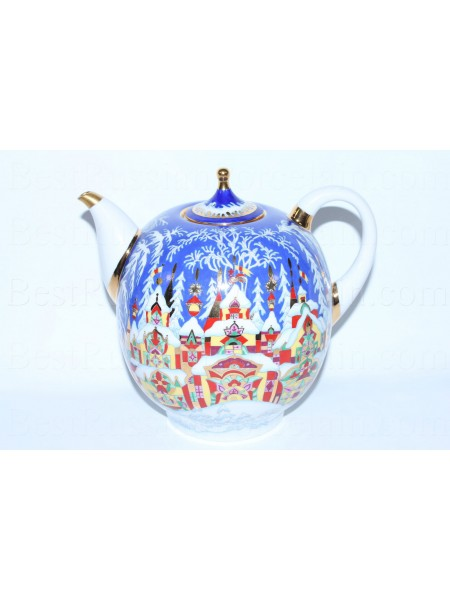Big Teapot pic. Winter Tale, Form Novgorod
