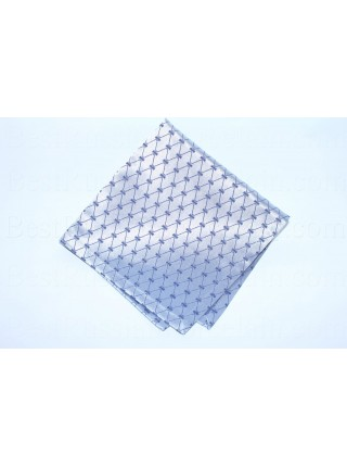 Set 6 Napkins pic. Cobalt Net (Blue)