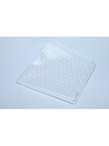 Set 6 Napkins pic. Cobalt Net (White)