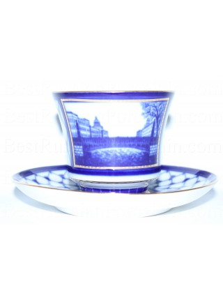 Cup and Saucer pic. Potseluev (Kissing) Bridge, Form Banquet