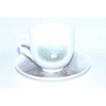 Cup and saucer pic. Hedgehog in the Fog - Tree, Form Lily of the valley