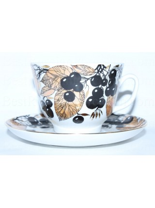 Cup and saucer pic. Chokeberry, Form Gift