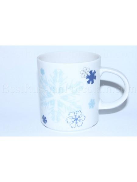 Mug pic. Snowflakes, Form Standard