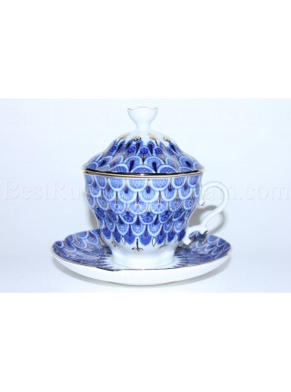 Cup and Saucer and Lid pic. Scale, Form Gift-2