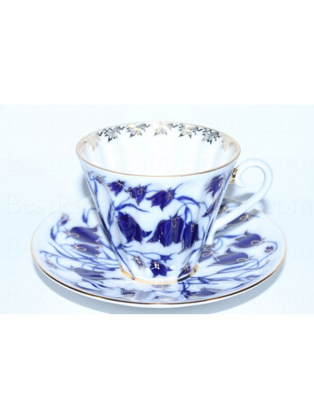 Cup and saucer pic. Bluebells, Form Radiant