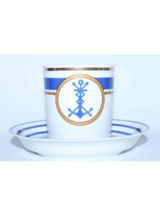 Cup and saucer pic. Wardroom 3, Marine Radio Operator, Form Heraldic