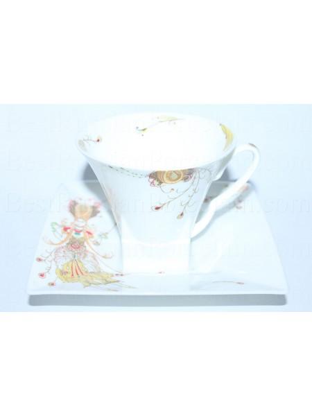 Cup and saucer pic. Firebird, Form Petropol
