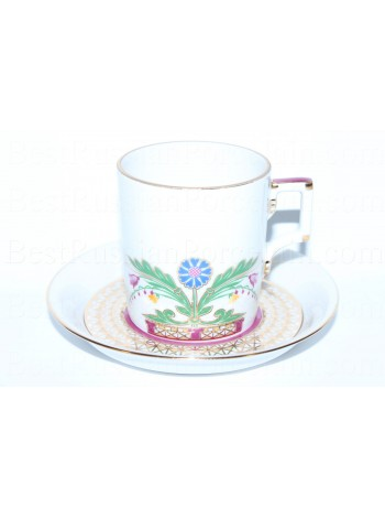 Cup and saucer pic. Zamoskvorechye, Form Heraldic